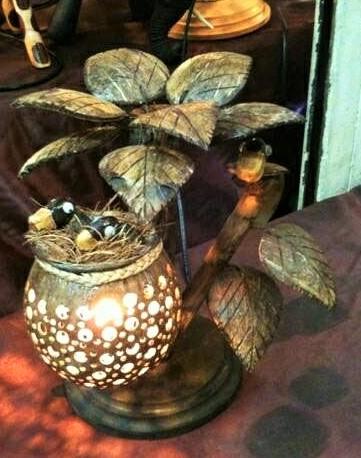 CoconutShellLamp754