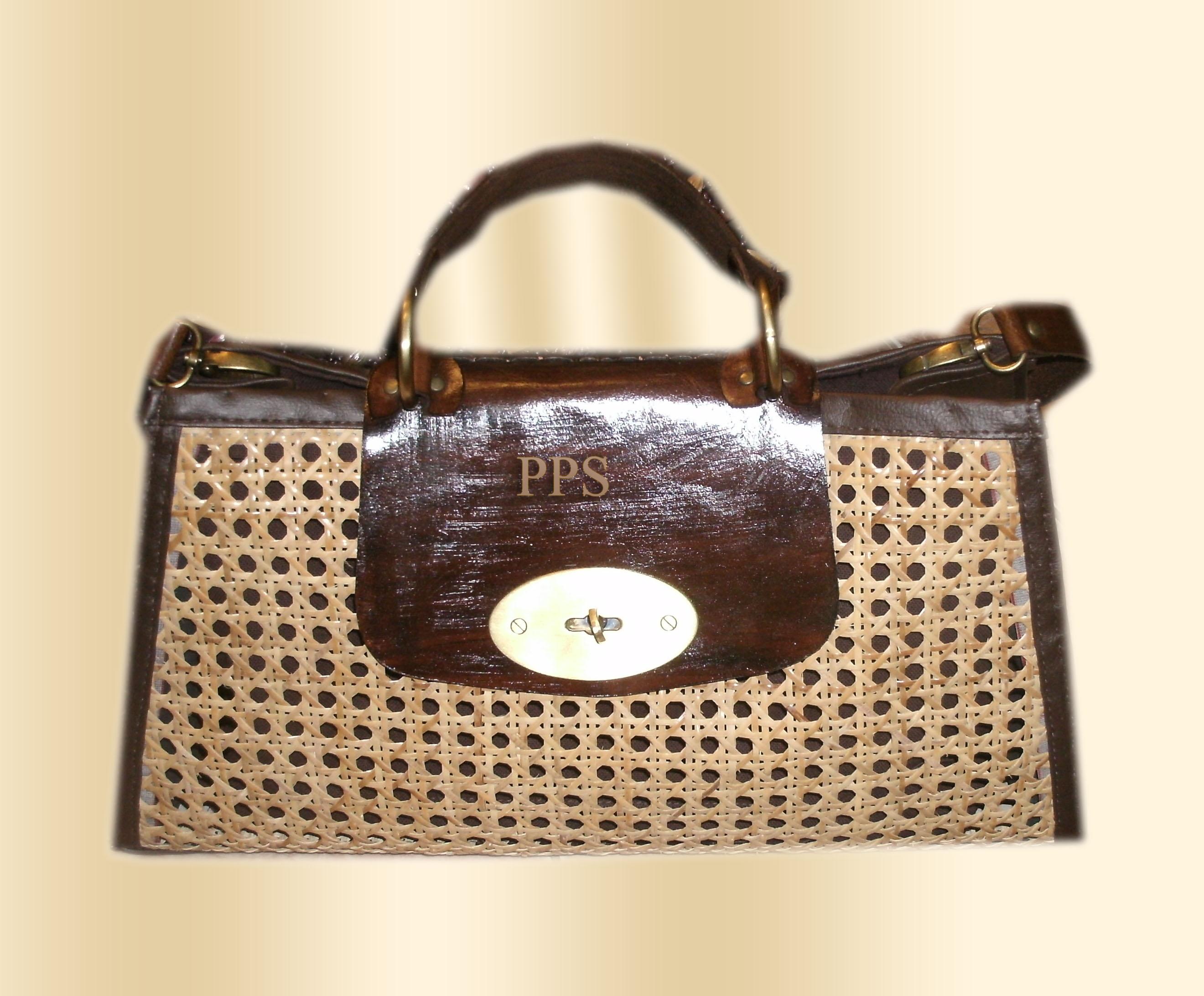 Rattan Bag-pps bag brand 11