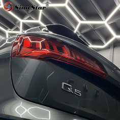 Customer easy to install for car beauty popular in Canada hexagon led light