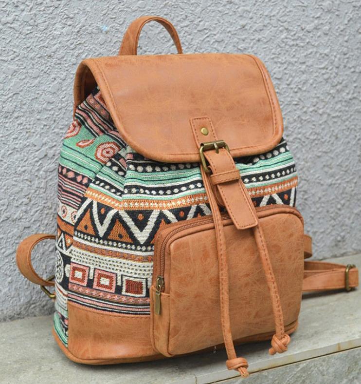 Tribal Pu Backpack-8