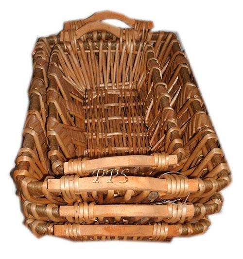 Rattan Basket 1957-1