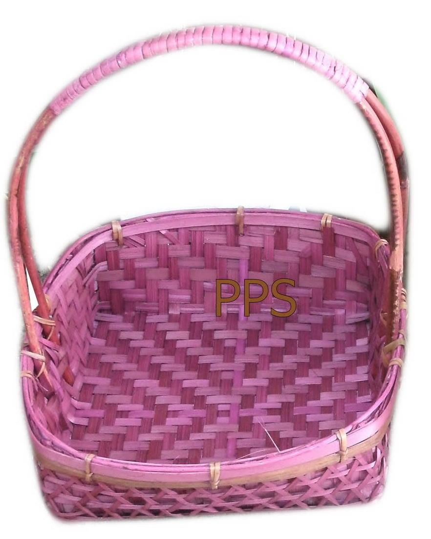 Bamboo Basket 4557-1