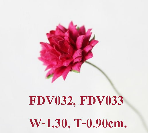 Sample Paper Flower-FDV032-033