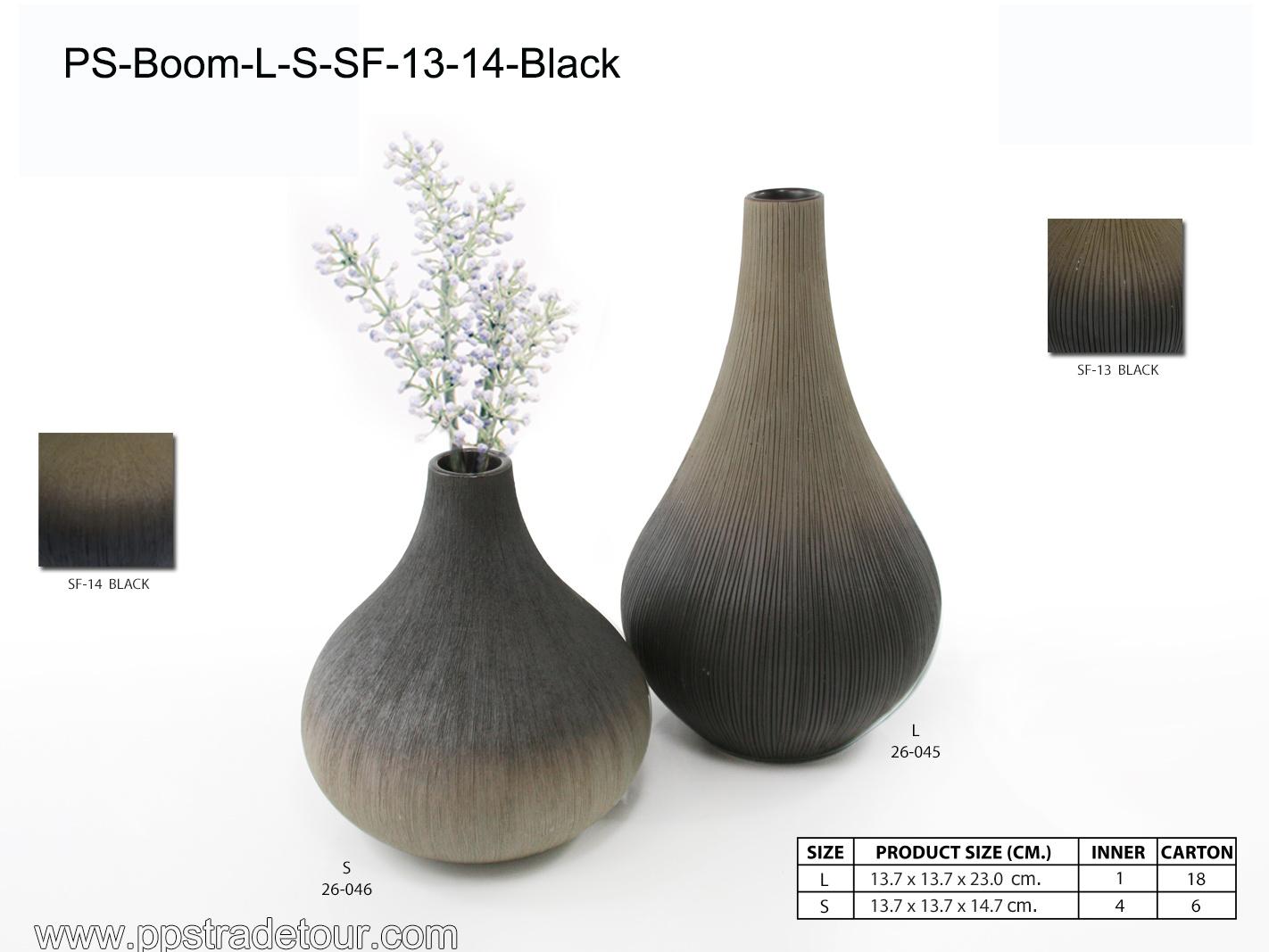 PSCV-BOOM-L-S-SF-13-14-BLACK