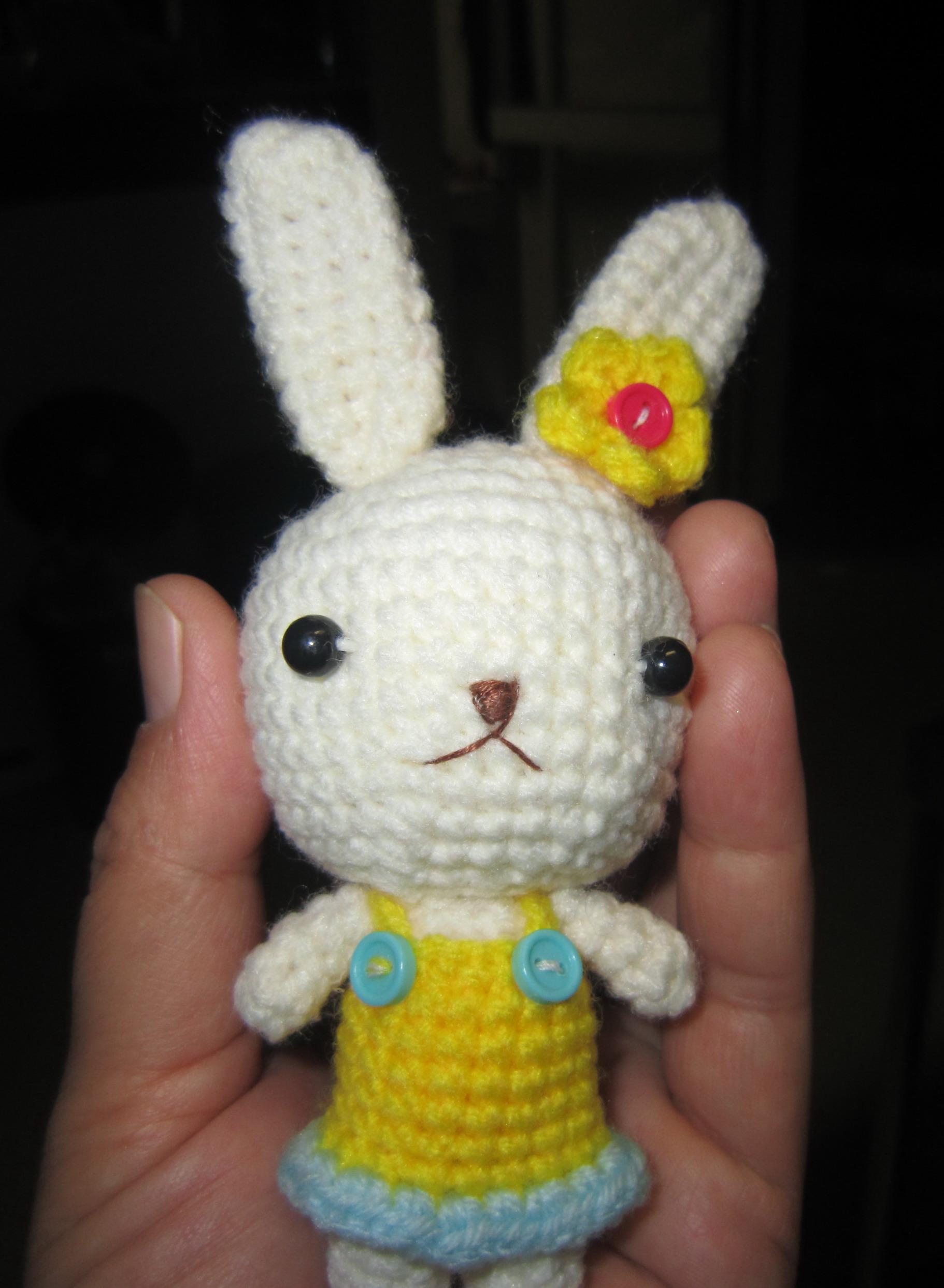Crochet Doll Keyring-IMG_3253