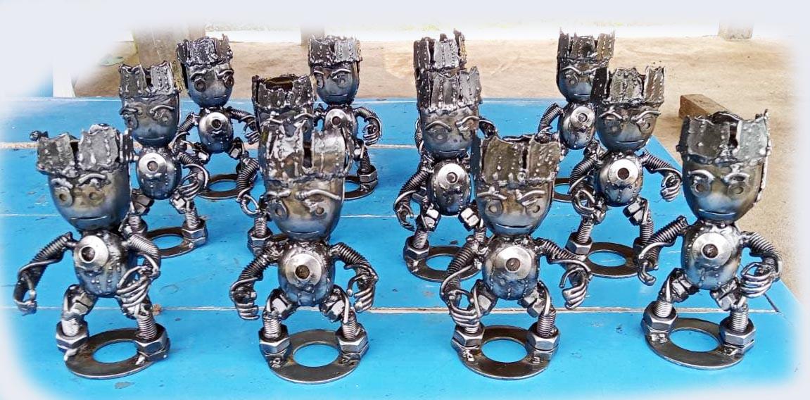 Recycle Metal Robot-2