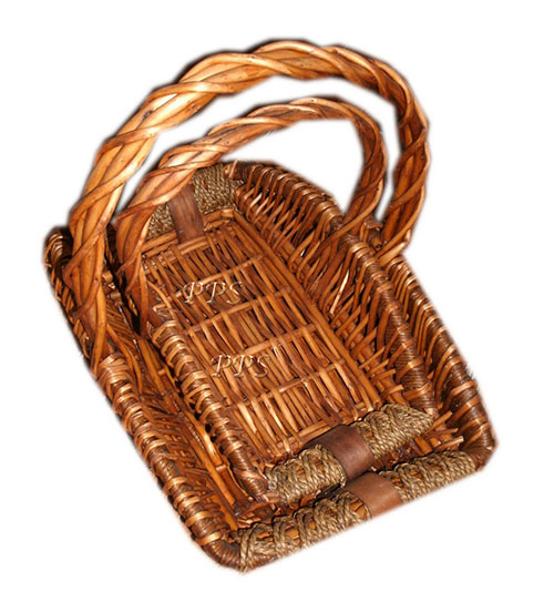 Rattan Basket with handle 1959-1