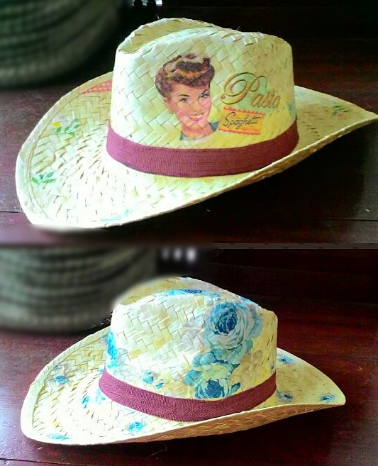 PS-Decoupage Hat-1