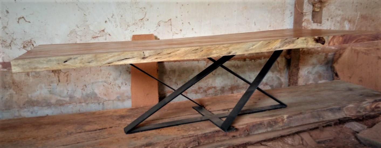 Makha Wood Table of 3