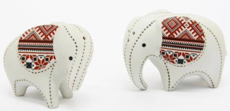 Elephant Ceramic Vase-14