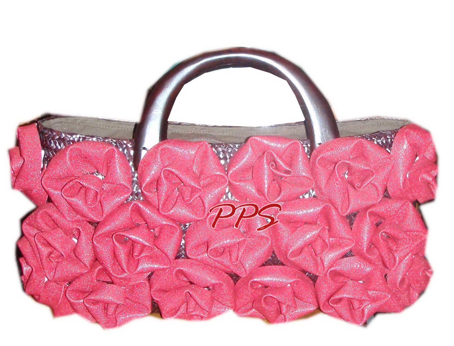 Seagrass and PU-Bag-PPS bag brand 15