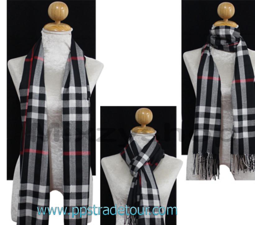 Knitting Wool Men Scarves-PS-SCF22