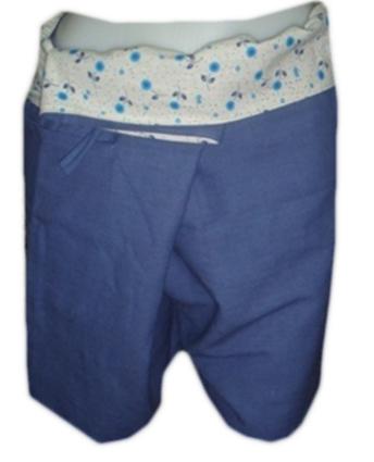 Short Cotton Trouser-B14