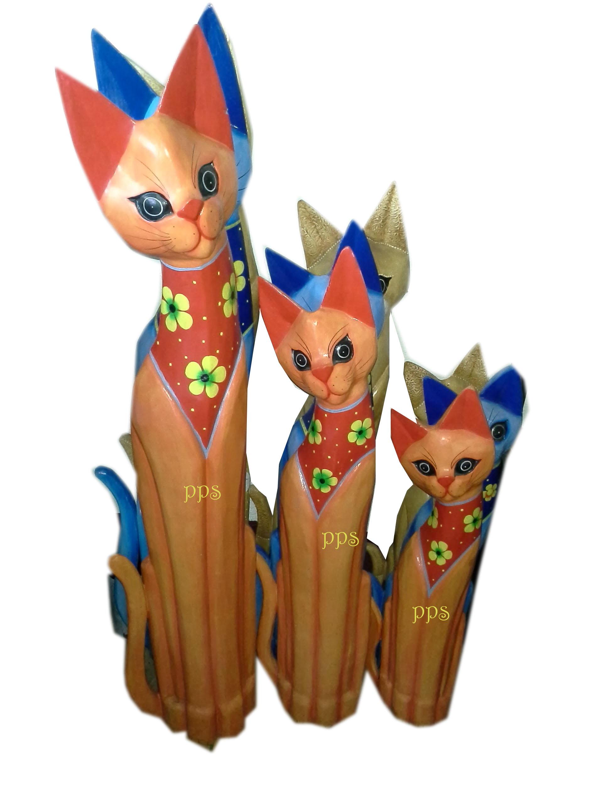 Decorative 3 cats
