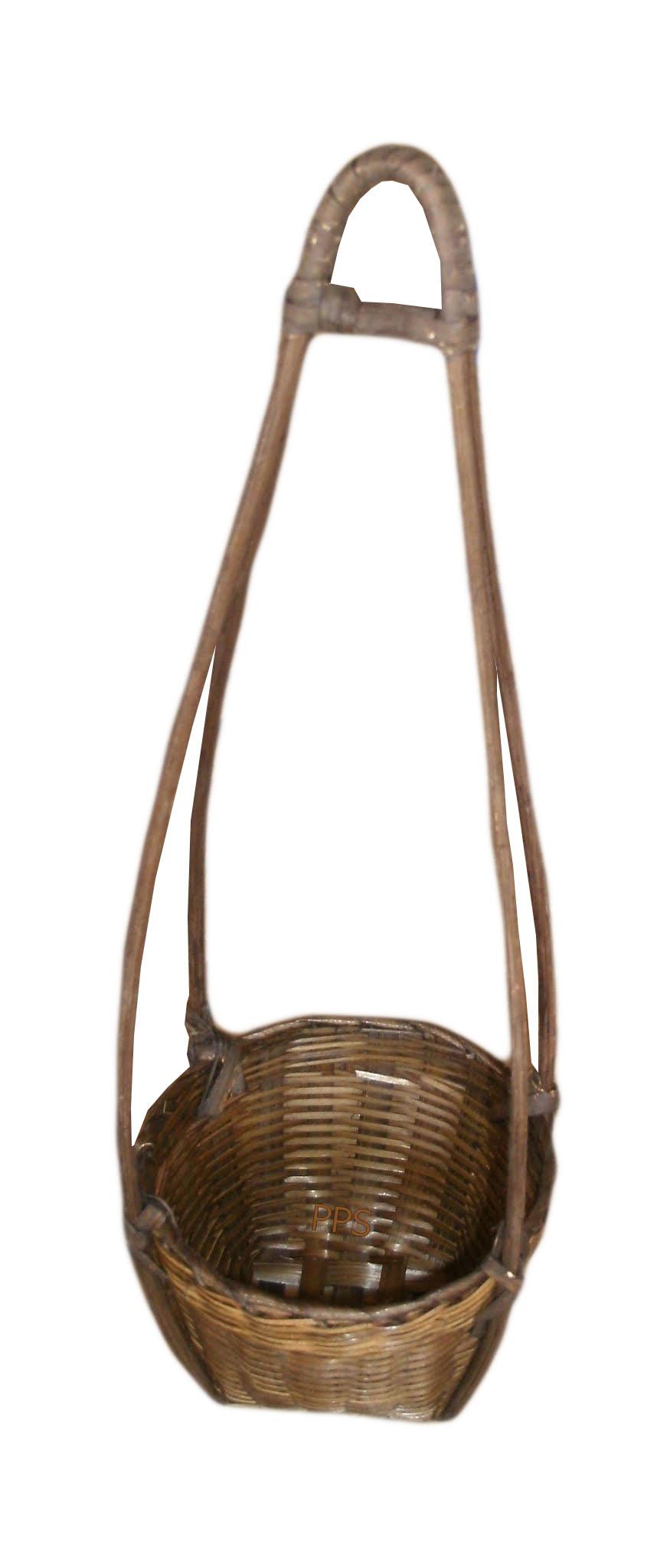 small bamboo basket PS-BB-09