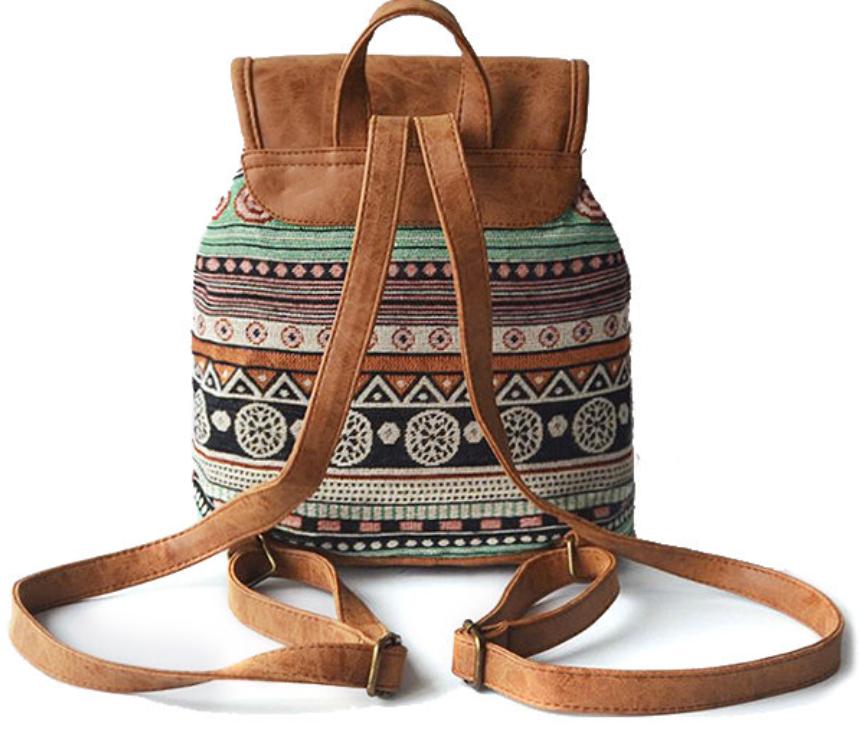Tribal Pu Backpack-7