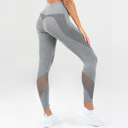 Women High Waist Seamless Yoga Leggings Activewear Workout Pants Full Length Custom Fitness Leggings