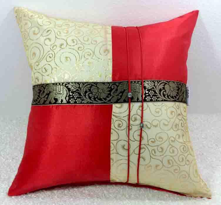 Silk Cushion Pillow Case-241