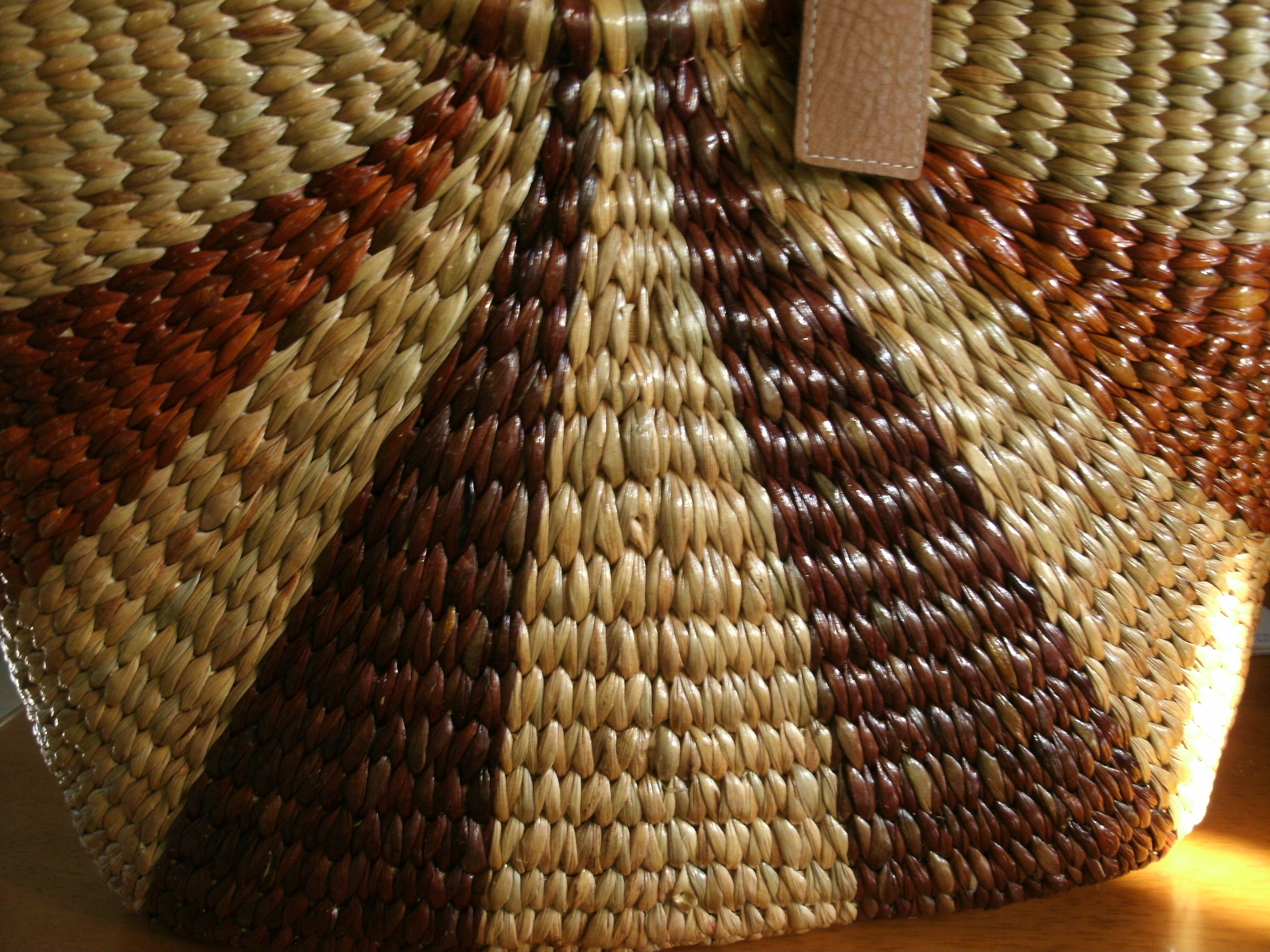 Hyacinth weave pattern-C0304