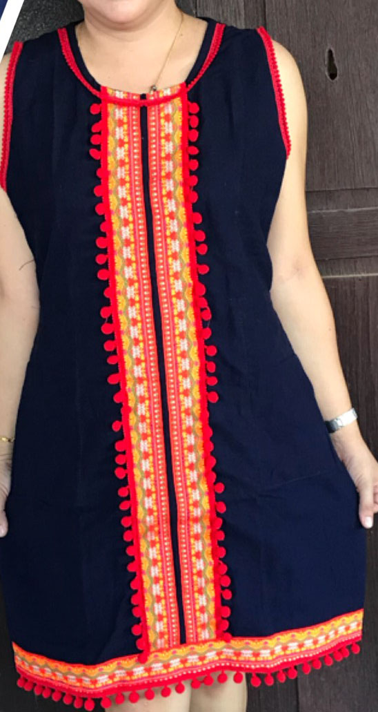 Cotton Dress-BNB-CMCD017