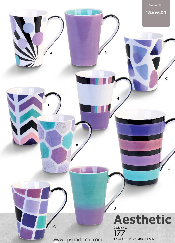 Aesthetic-Ceramic Mug 16 Oz.