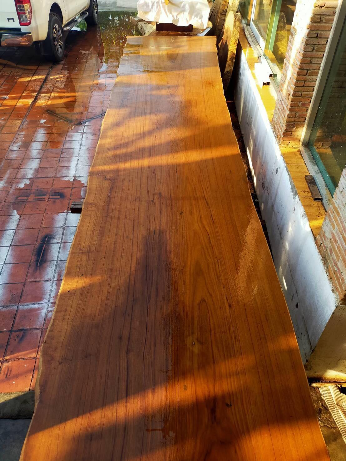 Large Teak Wood Table