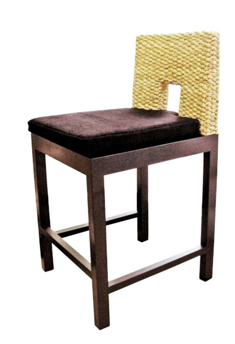 PS-Rattan Stool 6- SL6