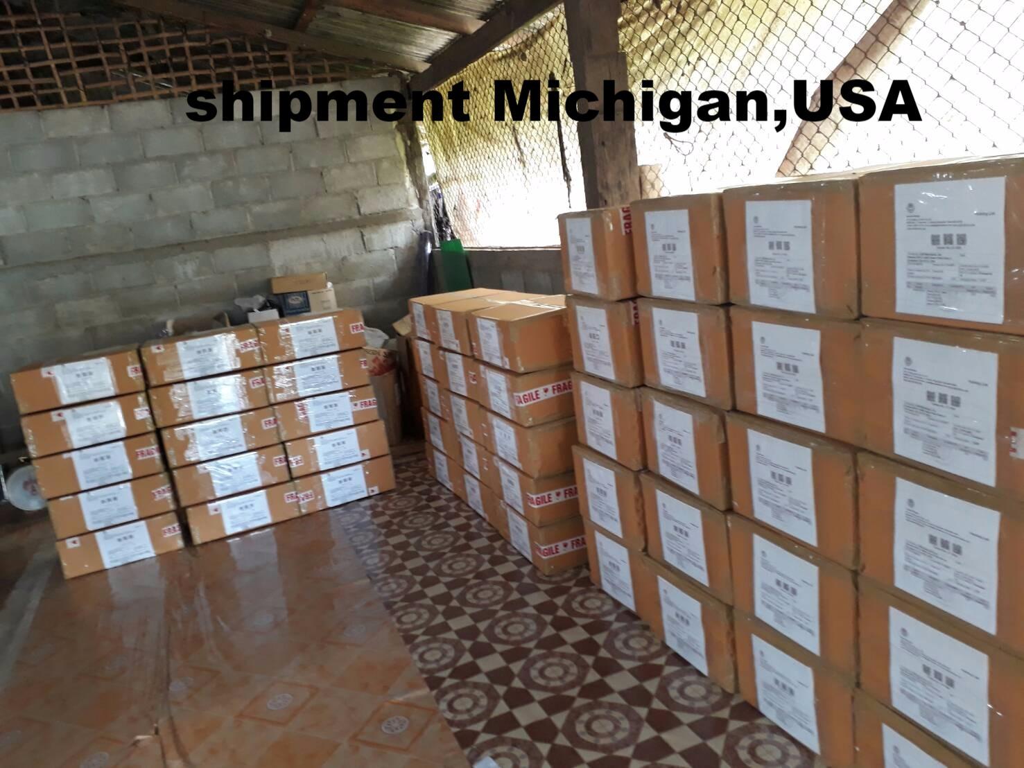 shipment to USA