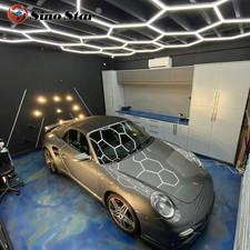 Customer easy to install light detailing popular in United States hexagon led light