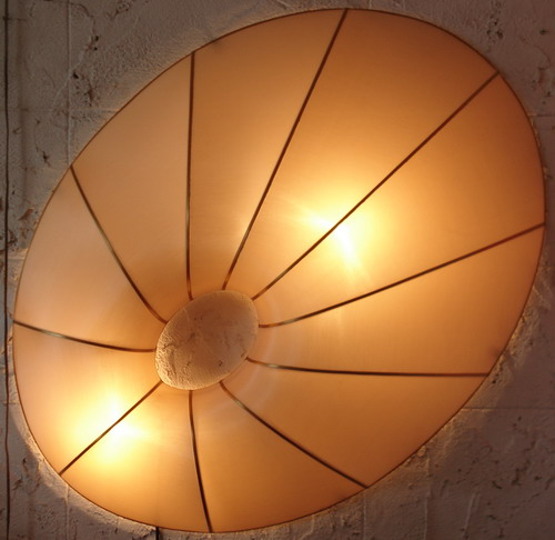 Silk Lamp oval shape