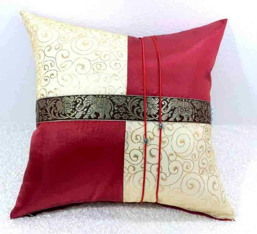 Silk Cushion Pillow Case-280