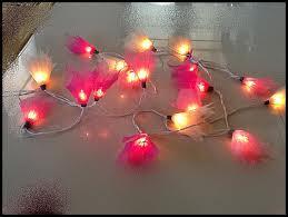 rubber leaf flower sting lights