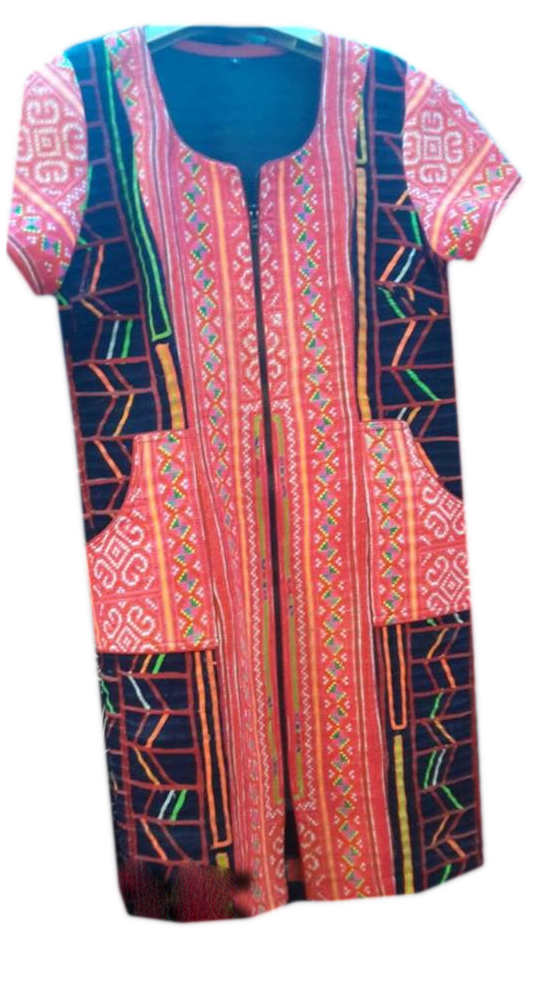 Tribal Patter Dress-17