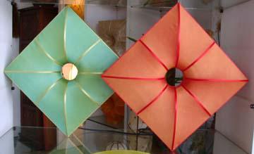 Silk Lamp  shape lotto twin