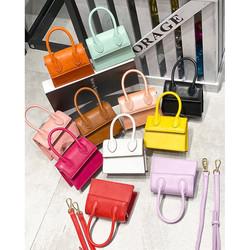 Luxury Brand Designer Small Crossbody bags For Women Fashion PU Leather Handbag Mini Totes Solid Cha