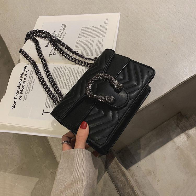 Wholesale 2020 Pu Leather Ladies Shoulder Bags Custom Women Fashion Designers Sling Bag Chain Messen