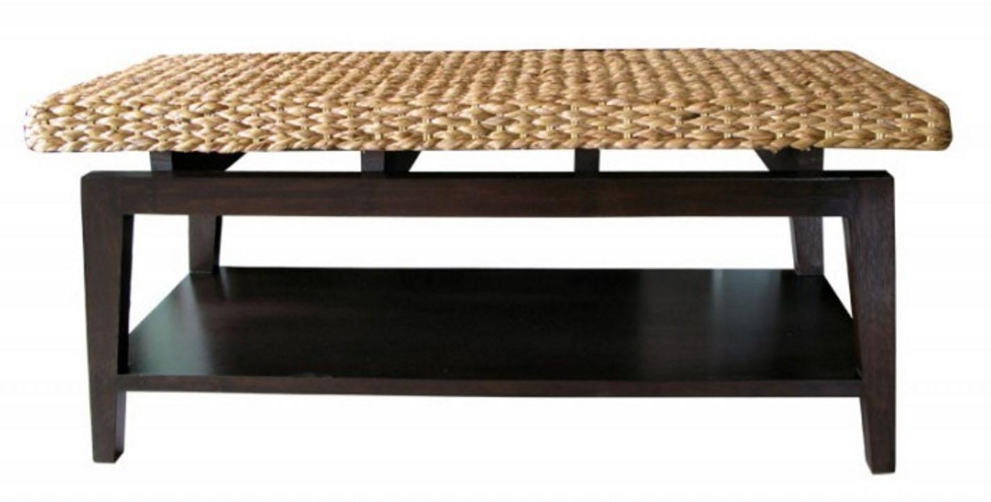 PS-Rattan Bench01