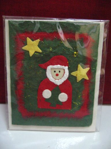Mulberry Paper Christmas Card-37