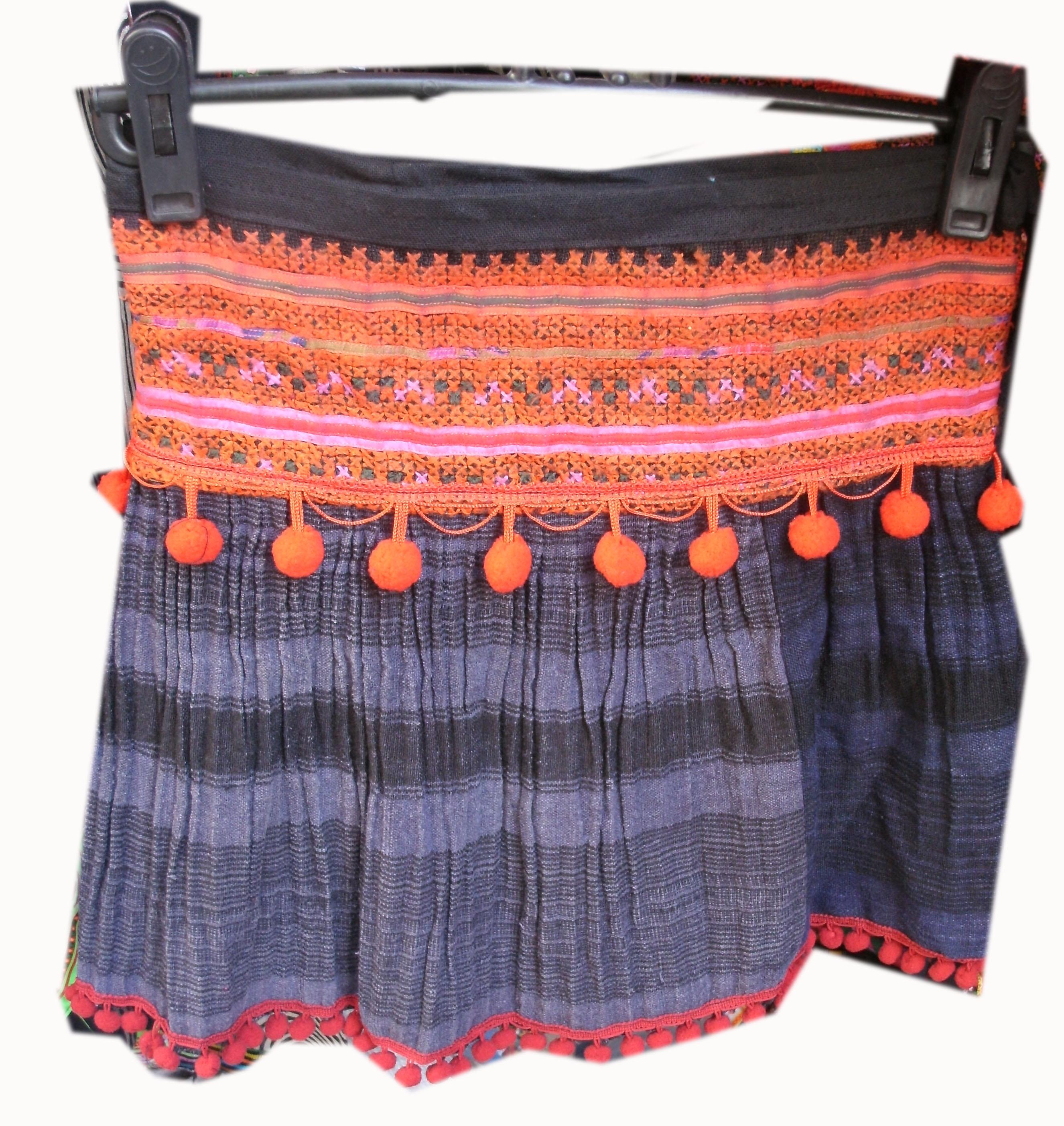 Tribal  Skirt-14