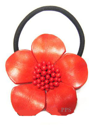 Leather Flower for hair band-h8