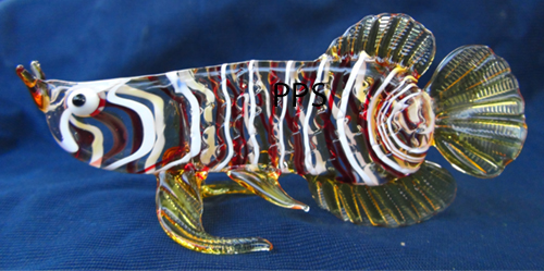 blown glass- fish