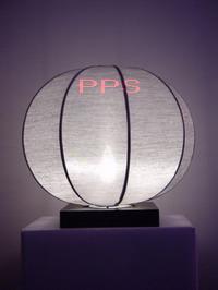 Silk Lamp round shape