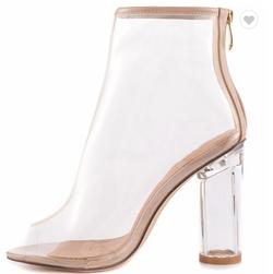 PVC sandals women shoes