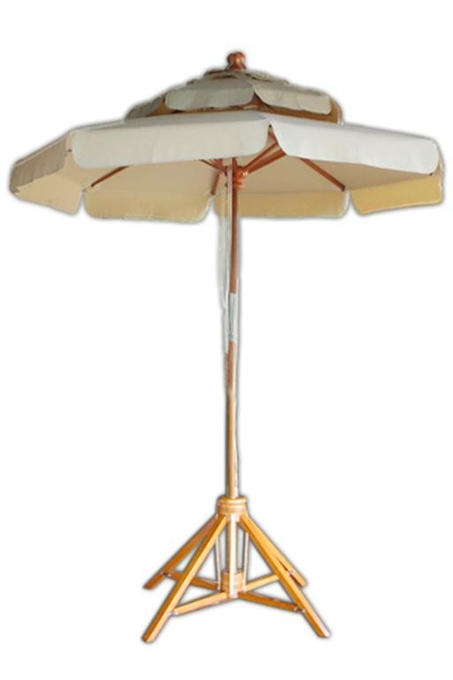 Solid wood outdoor umbrella (Large)