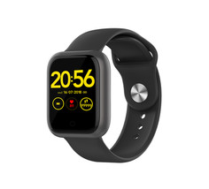 IP68 Waterproof Heart Rate Blood Pressure Monitor Square Smart Watch GT1 1.3 Inch Fitness Band Smart Watch Alan