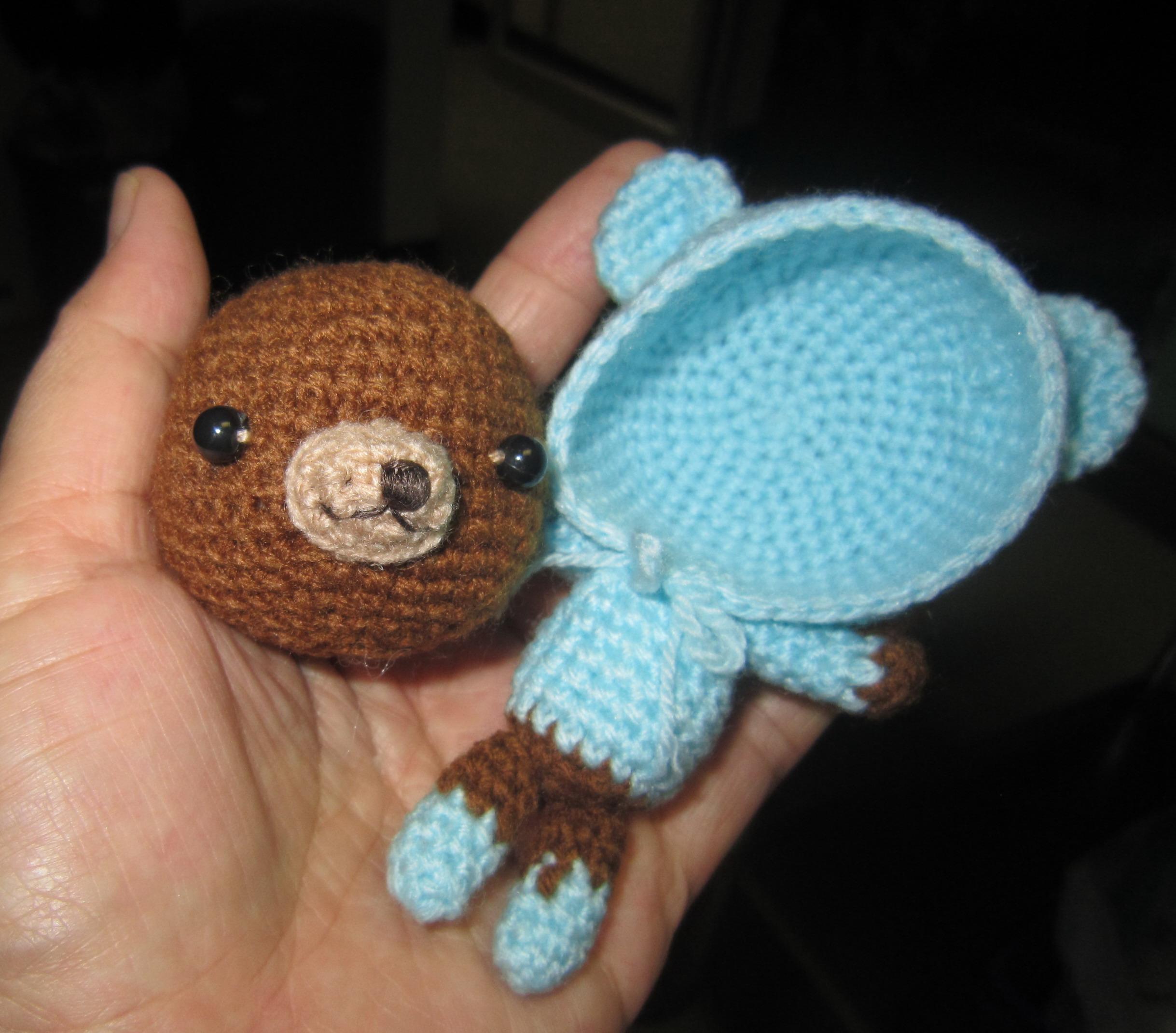 Crochet Doll Keyring-IMG_3252