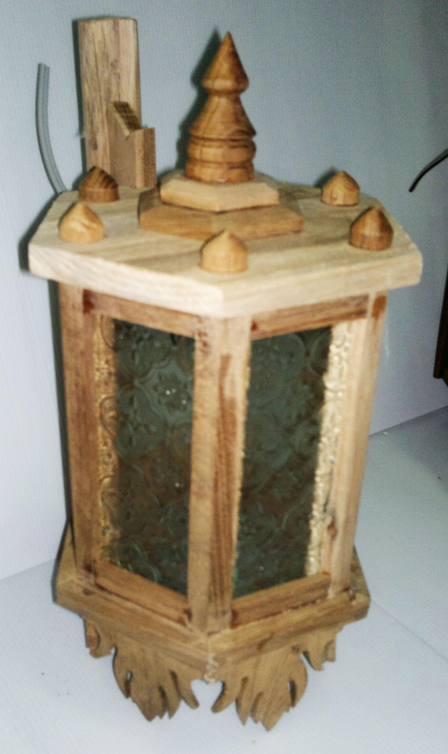 Teak Lamps 430101