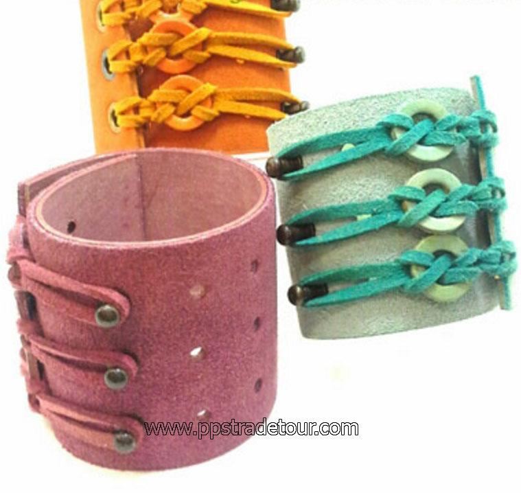 Leather Bracelet-N37