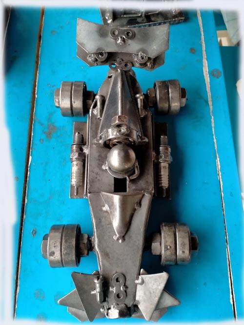Recycle Metal Robot-car