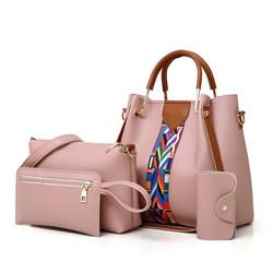 Large Capacity Crossbody Bags 4 Pcs/set Women Shoulder Bags Female ladies hand bags handbags set